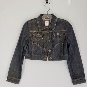 Limited Too Kid Crop Denim Jacket